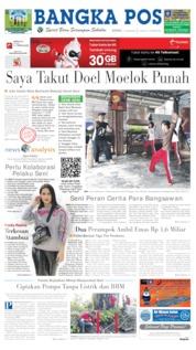 Cover Bangka Pos 17 Juni 2019
