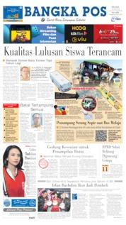 Bangka Pos Cover 18 June 2019