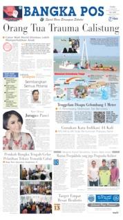 Bangka Pos Cover 19 June 2019