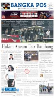 Cover Bangka Pos 20 Juni 2019