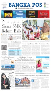 Bangka Pos Cover 16 July 2019