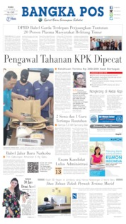 Bangka Pos Cover 17 July 2019