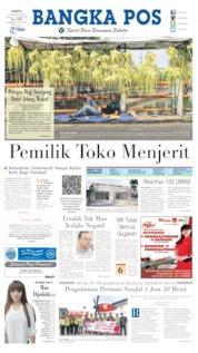Cover Bangka Pos 10 Agustus 2019