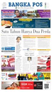 Cover Bangka Pos 15 Agustus 2019