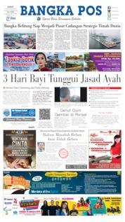 Cover Bangka Pos 16 Agustus 2019