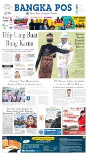 Cover Bangka Pos 18 Agustus 2019