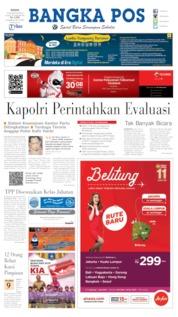 Cover Bangka Pos 19 Agustus 2019