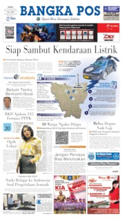 Cover Bangka Pos 21 Agustus 2019