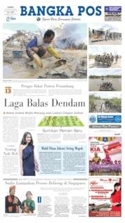 Cover Bangka Pos 23 Agustus 2019