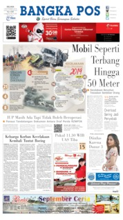 Cover Bangka Pos