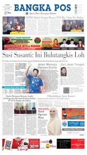 Cover Bangka Pos 09 September 2019