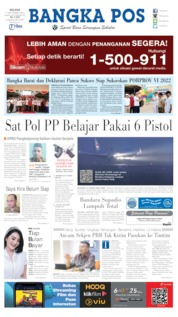 Cover Bangka Pos 17 September 2019