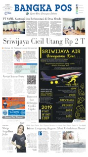 Bangka Pos Cover