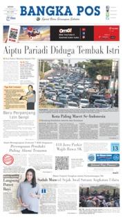 Bangka Pos Cover 07 October 2019