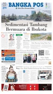 Bangka Pos Cover 08 October 2019