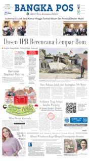 Bangka Pos Cover 10 October 2019