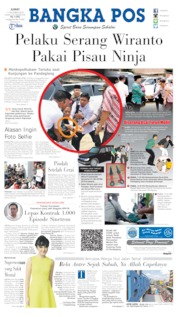 Bangka Pos Cover 11 October 2019