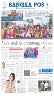 Bangka Pos Cover 12 October 2019