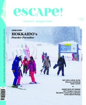 Escape! Asia Magazine Cover