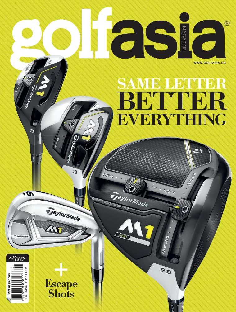Golf asia Digital Magazine January 2017