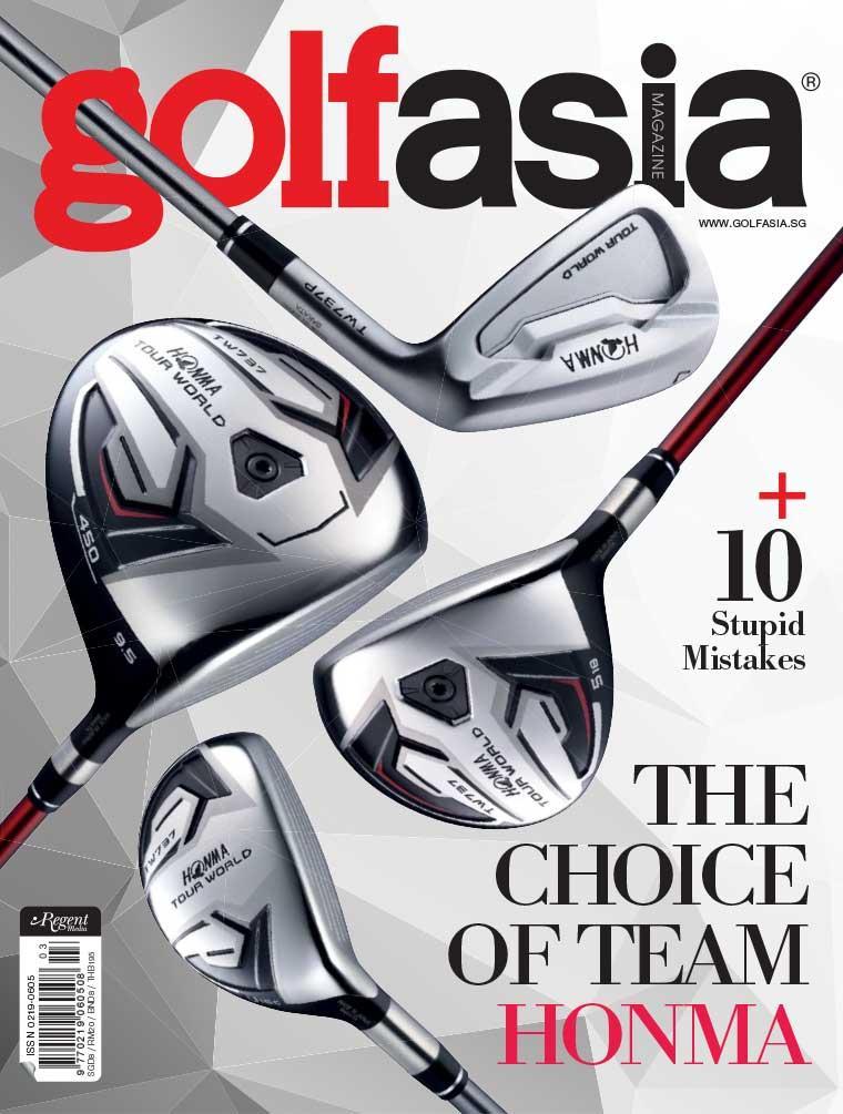 Majalah Digital golf asia Maret 2017