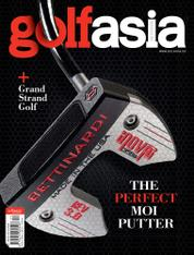 Golf asia Magazine Cover April 2016