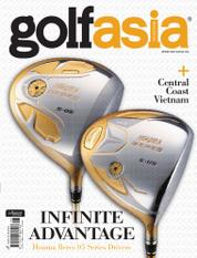 Golf asia Magazine Cover June 2016