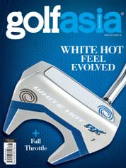 Golf asia Magazine Cover August 2016