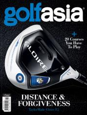 Golf asia Magazine Cover October 2016