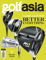 Golf asia Magazine Cover January 2017
