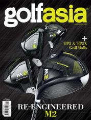 Golf asia Magazine Cover February 2017
