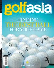 Golf asia Magazine Cover May 2017