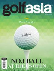 Golf asia Magazine Cover