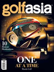 Golf asia Magazine Cover September 2017