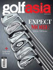 Golf asia Magazine Cover October 2017