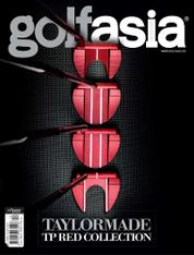 Golf asia Magazine Cover December 2017