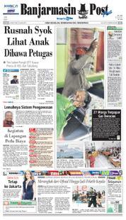 Cover Banjarmasin Post 23 Maret 2018