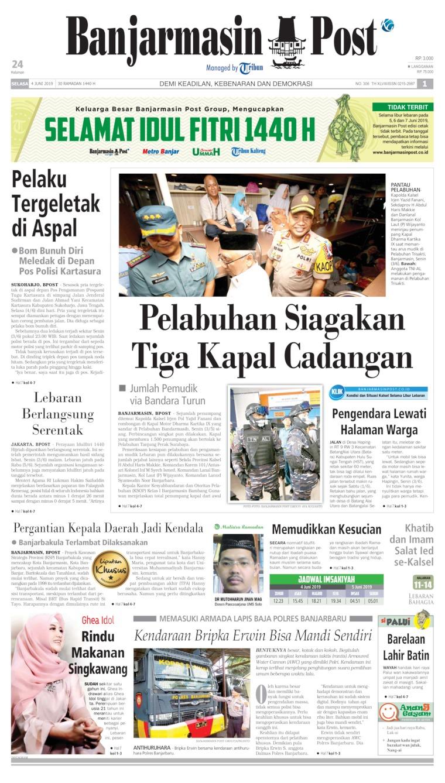 Koran Digital Banjarmasin Post 04 Juni 2019