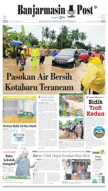 Koran Digital Banjarmasin Post 09 Juni 2019