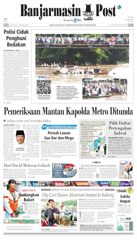 Koran Digital Banjarmasin Post 11 Juni 2019
