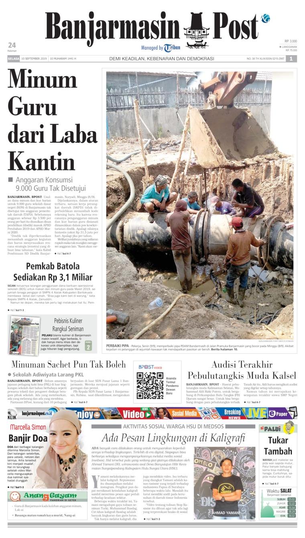 Koran Digital Banjarmasin Post 10 September 2019