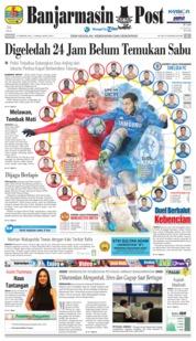 Cover Banjarmasin Post 25 Februari 2018