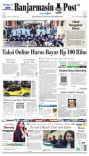 Cover Banjarmasin Post 21 April 2018
