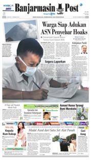 Cover Banjarmasin Post 23 Mei 2018