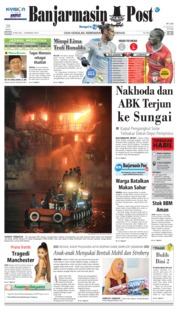 Cover Banjarmasin Post 26 Mei 2018