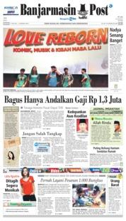 Cover Banjarmasin Post 27 Mei 2018