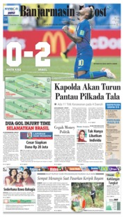 Cover Banjarmasin Post 23 Juni 2018