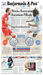 Cover Banjarmasin Post 24 Juni 2018