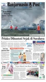 Cover Banjarmasin Post 17 Juli 2018