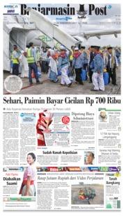 Cover Banjarmasin Post 20 Juli 2018